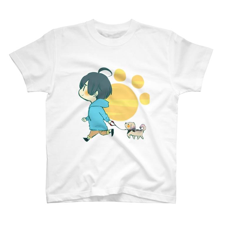 かもしかのかもしかとカール T-shirts