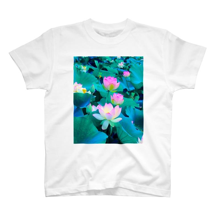 訓子kunkoの遊泳(蓮) T-shirts