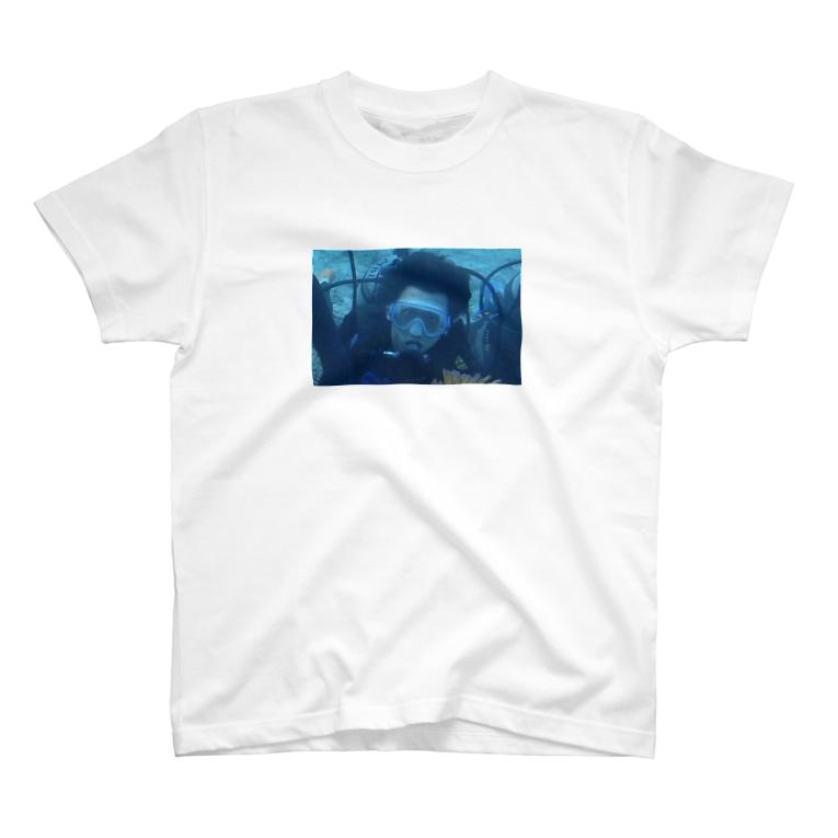 nttkzkのTobi Diving T-shirts