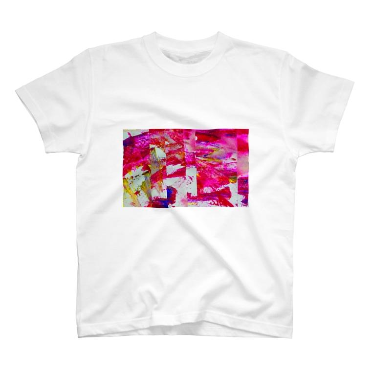 Fujino@二月展示の鮮-sen- T-shirts