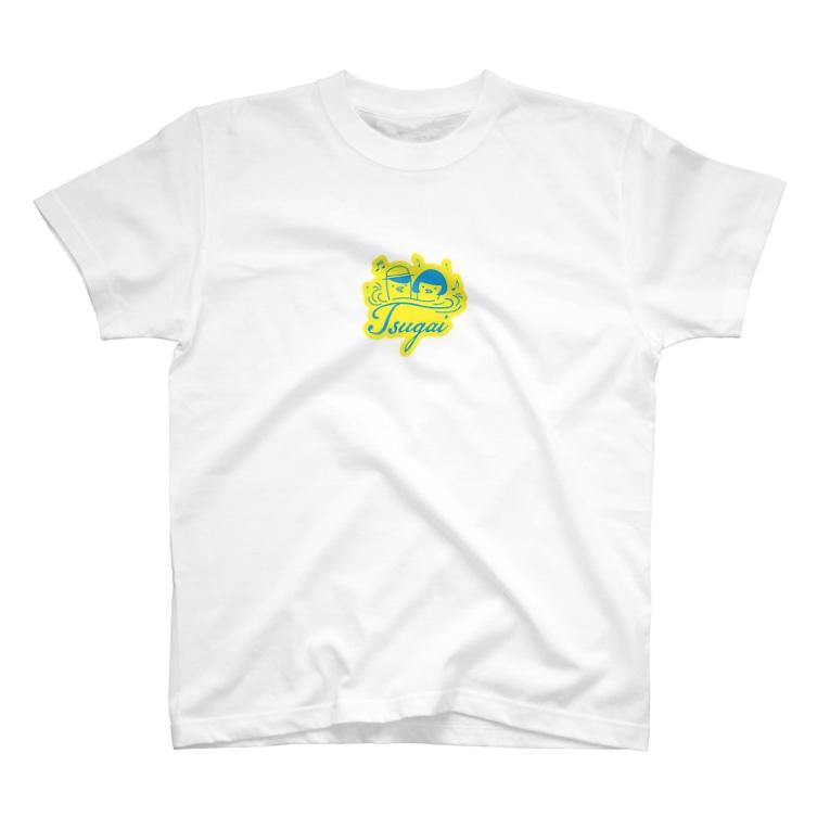 つがいのバードウォッチング倶楽部のツガイのロゴTシャツ T-shirts