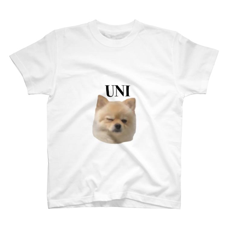 上条なずなのウィンクうにちゃん T-shirts