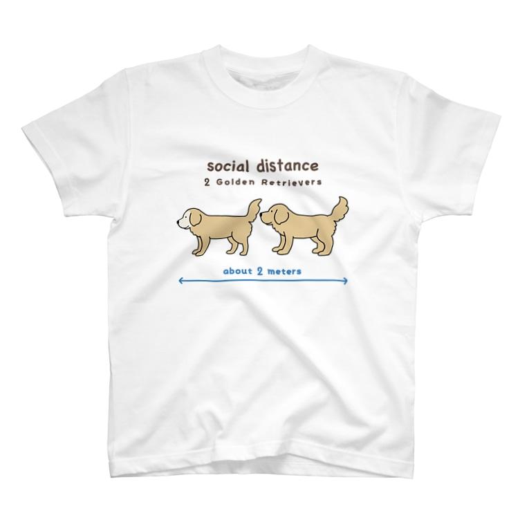 efrinmanのソーシャルディスタンス T-shirts