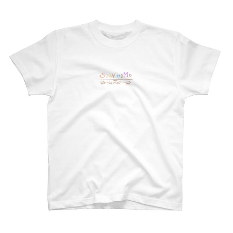ももたろのステイホームふわたろ T-shirts