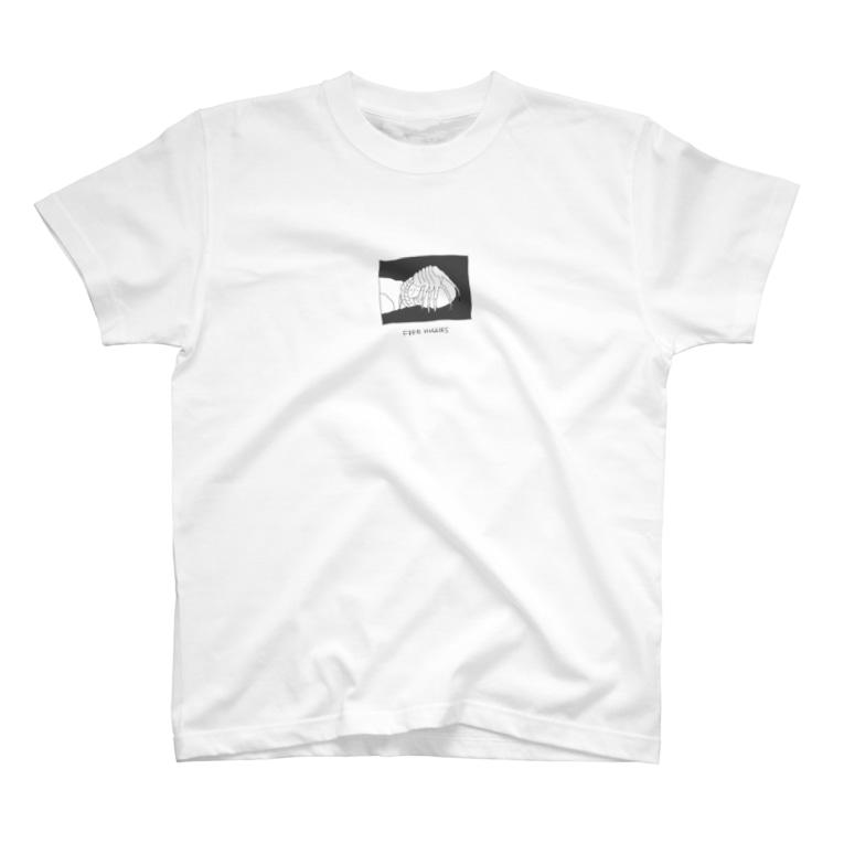 omochimontaの映画エイリアン(1979)・Face hugger T-shirts