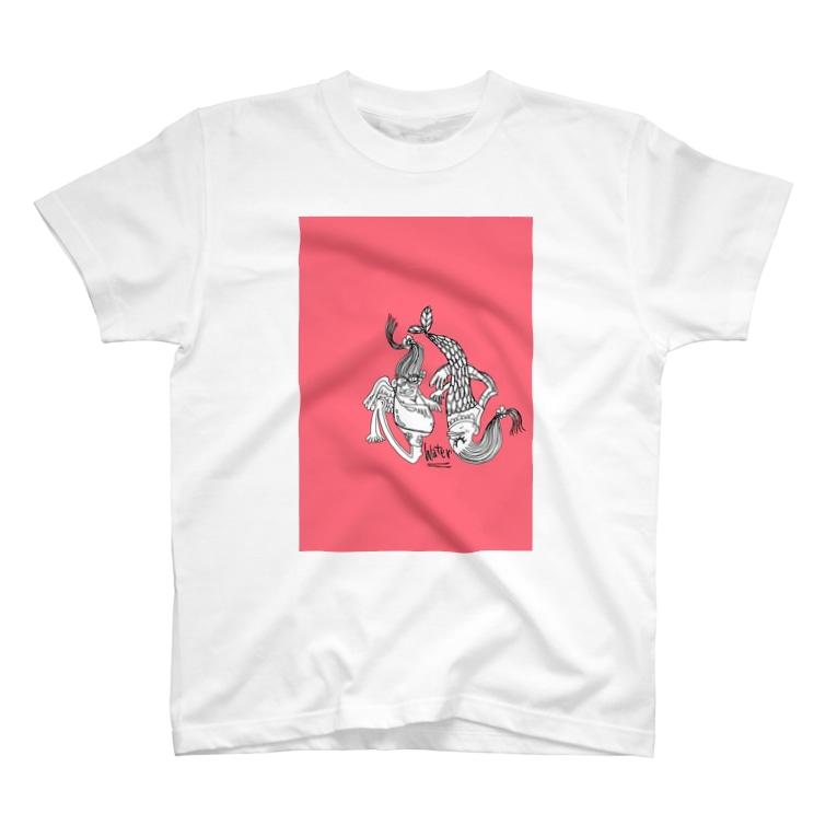 peacefulのNinngyo T-shirts
