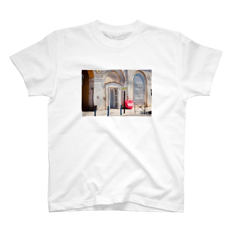 Atelier 16のpromenade T-shirts