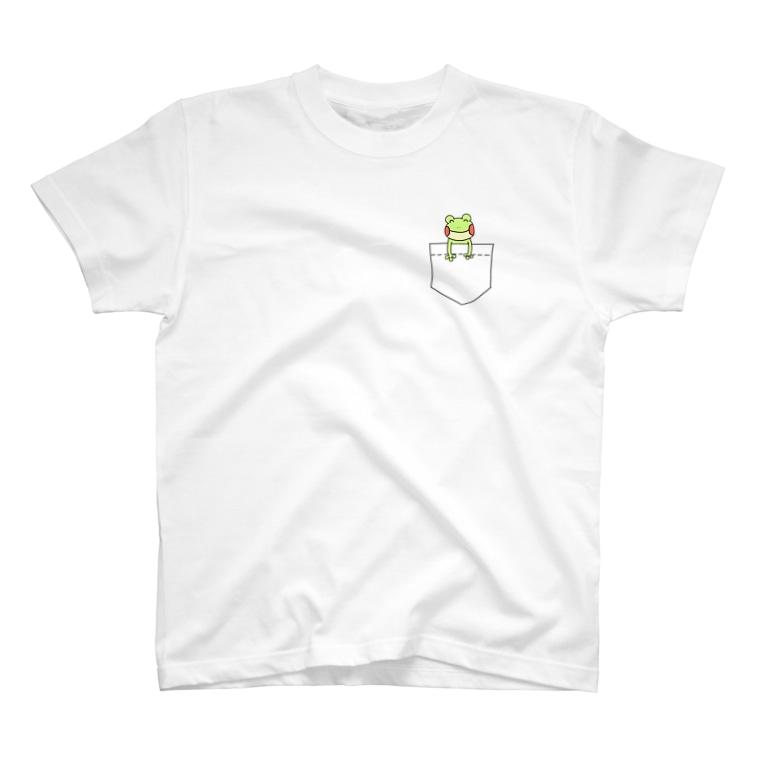 りちゃん!のポケットからカエル T-shirts