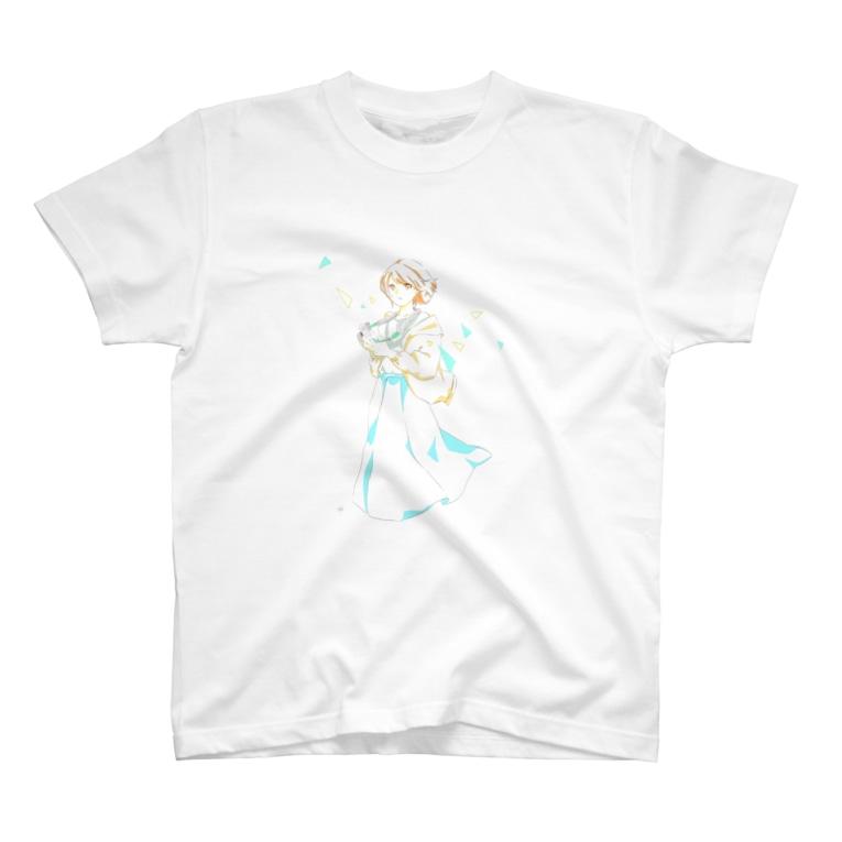 くらげの水槽のカメラ T-shirts