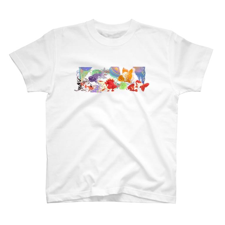 あやるの金魚たち T-shirts