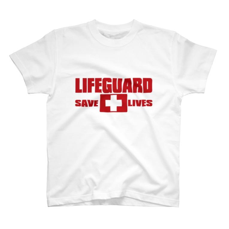 AURA_HYSTERICAのLIFEGUARD T-shirts