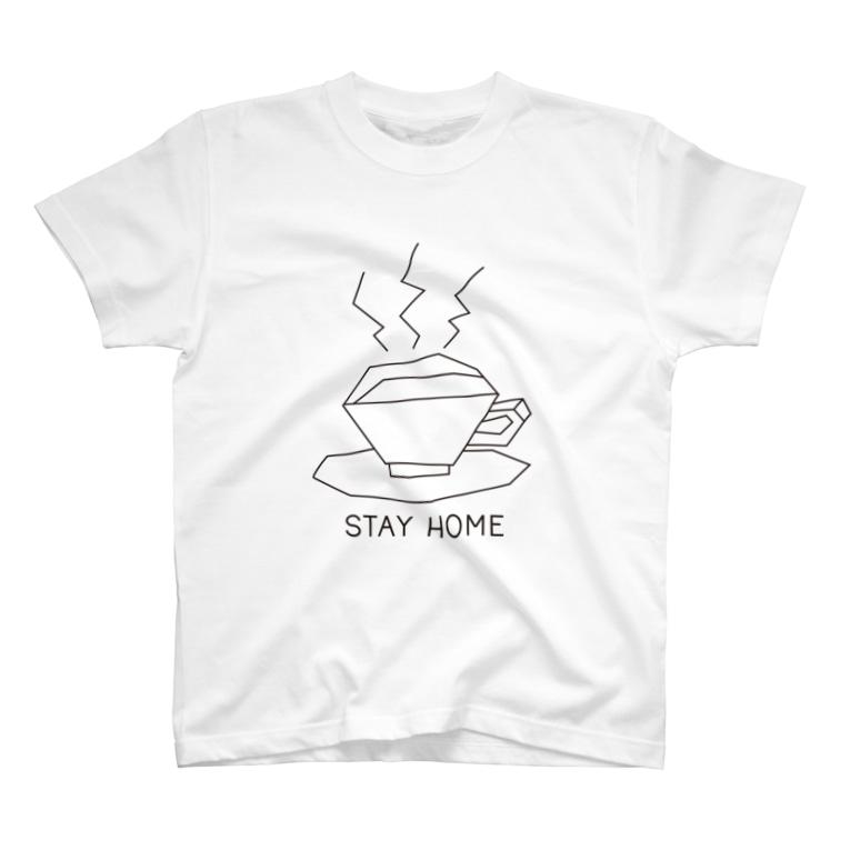 ゴトーマミのSTAY HOME T-shirts