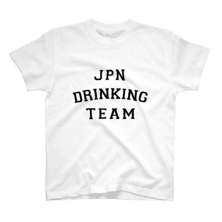 shoppの全日本酒興団体 T-Shirt