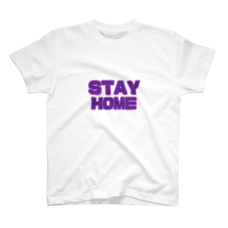 shottaro's roomのSTAY HOME T-shirts