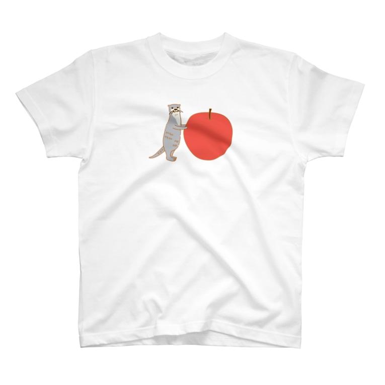 ソーメンズのかわうそりんご T-Shirt