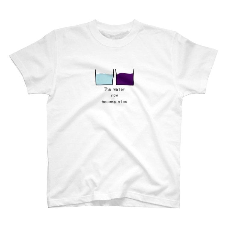 BIBLIVE HOUSE   クリスチャングッズのWine and Water T-shirts