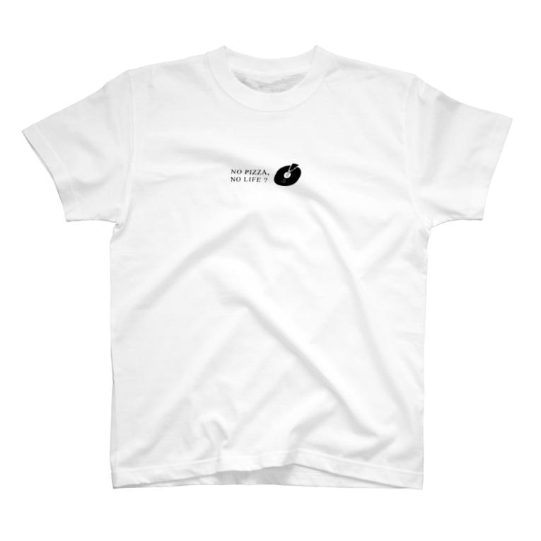 pizzatabetaiのno pizza no life T-Shirt