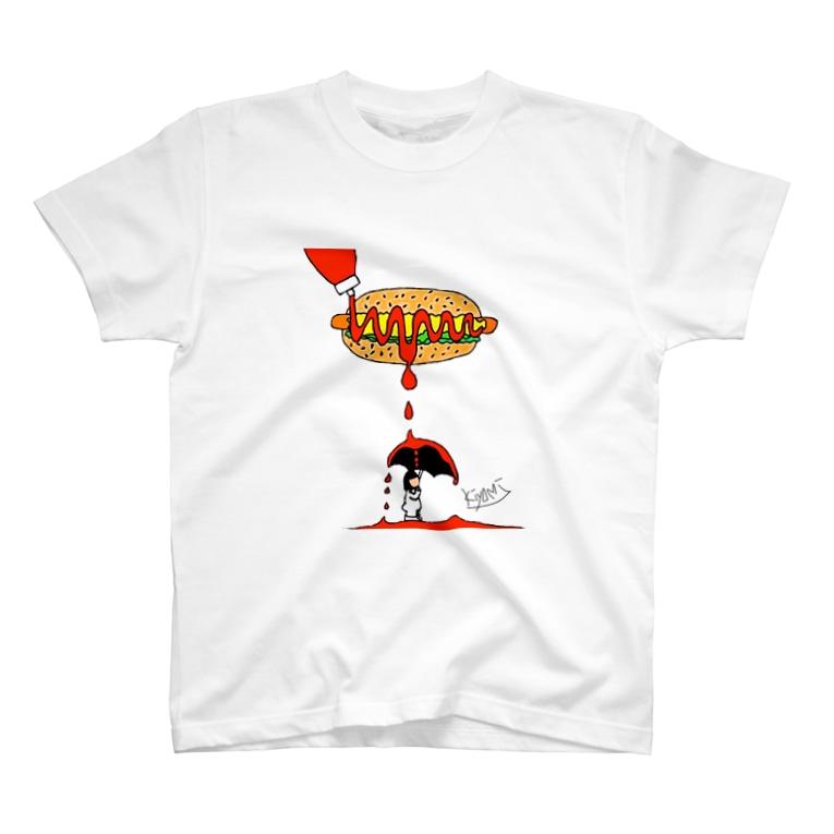 全身タイツのきよみのホットドッグ🌭 全身タイツのきよみ T-shirts