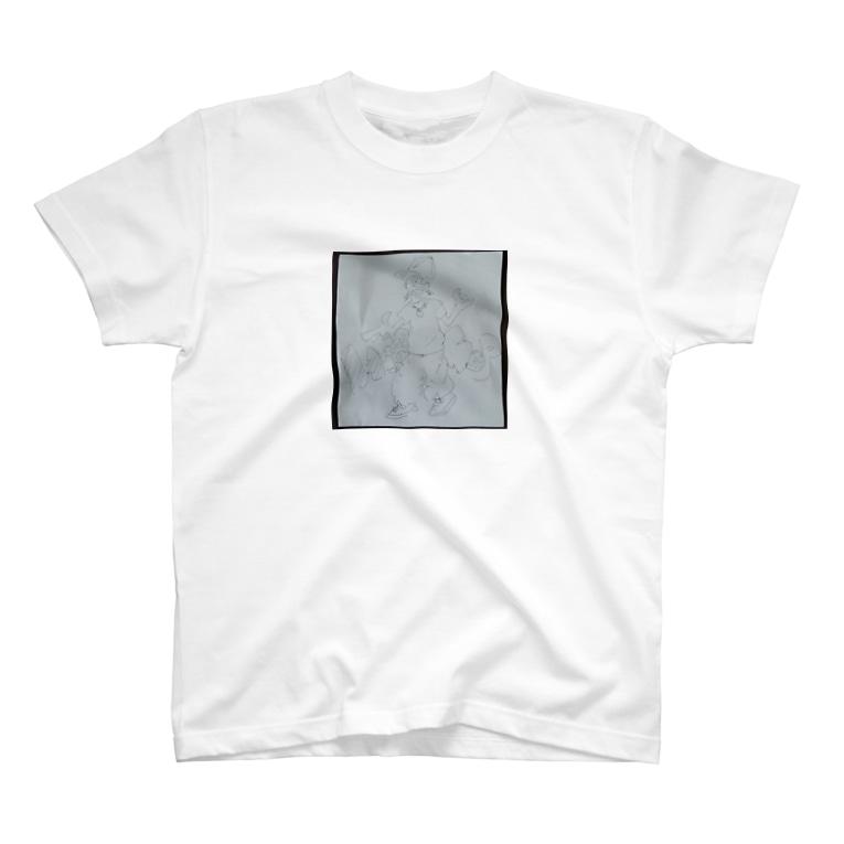 ぶたマンモス やっぴーのGARU HipHopくんseries T-shirts