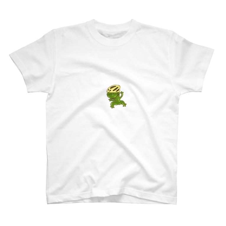 Mylily55のかえる蔵 T-shirts