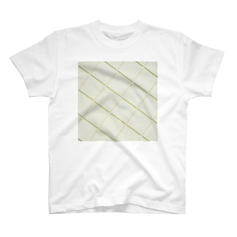 harucameraのharucamera メロンパン壁 T-shirts