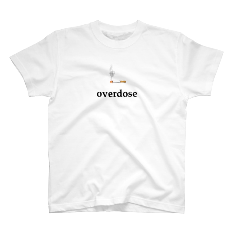 overdose_817の煙草 overdose T-shirts