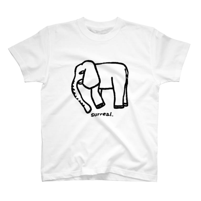 Creative store Mのsurreal_06(BK) T-Shirt