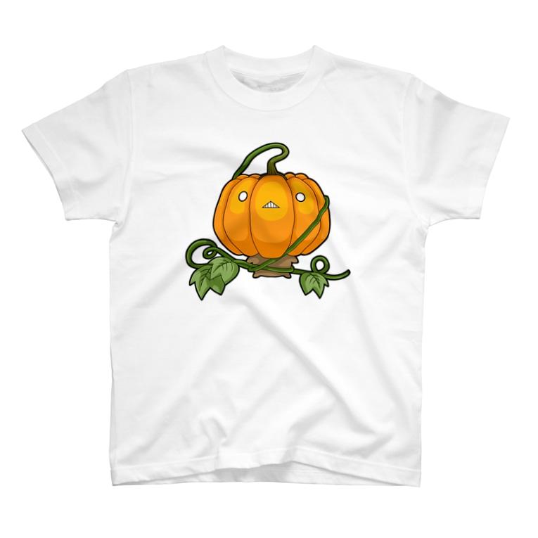 bekkouのおやさいシリーズ かぼちゃ ① T-shirts
