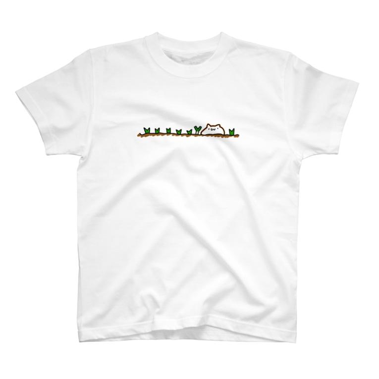 ねぎのねぎ畑(前面のみ) T-shirts