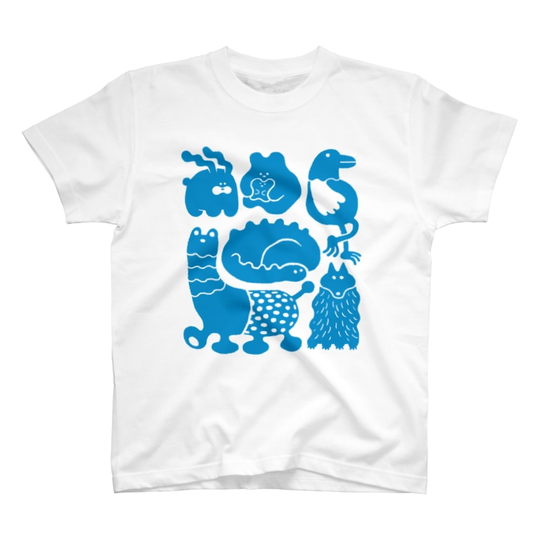 しりもとの動物たち T-shirts