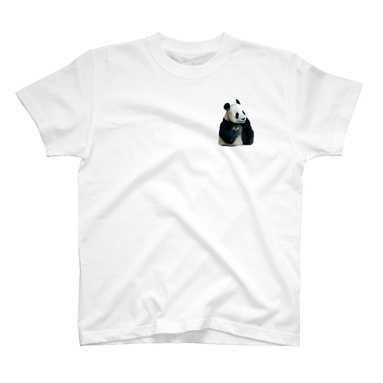 HKG パンダのこんにちは🐼パンダ T-Shirt