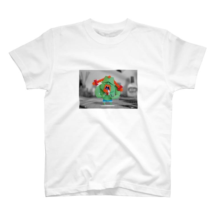 松本康孝のおさげボーイ T-shirts