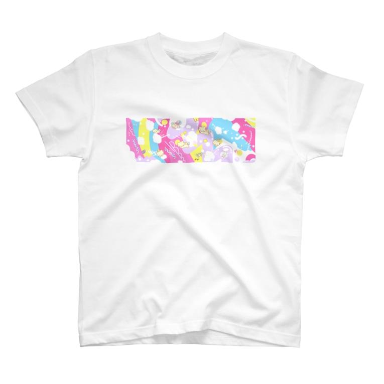 ようなぴしょっぴんぐまーとのようなぴワールドのお空 T-shirts