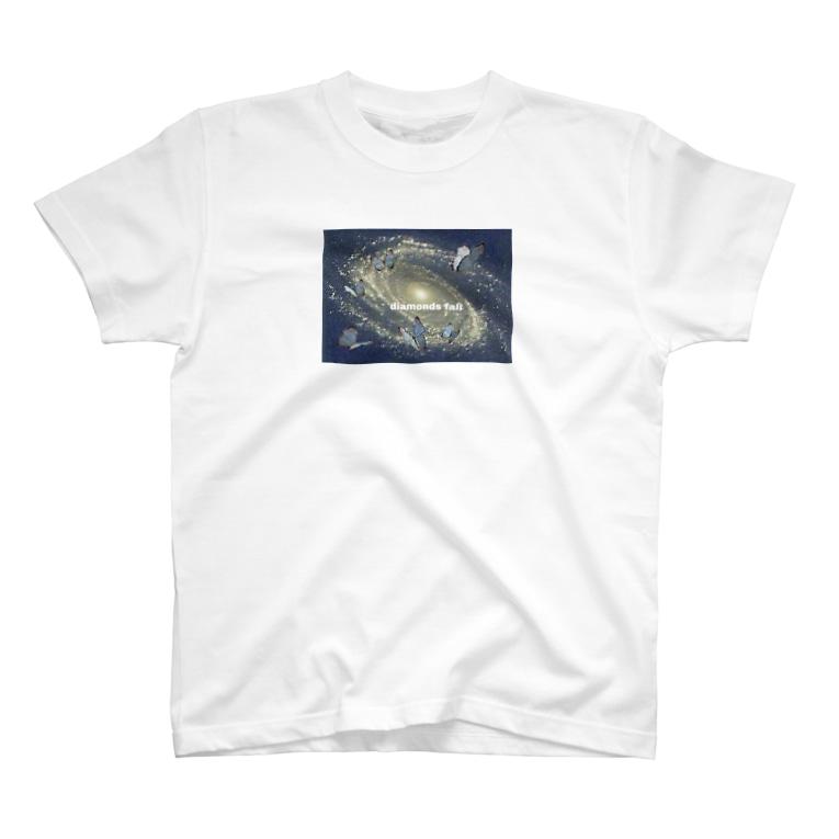 maimadeの蝶銀河 T-shirts