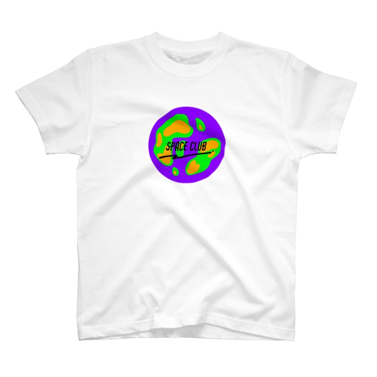frecklesのspace Club  T-shirts