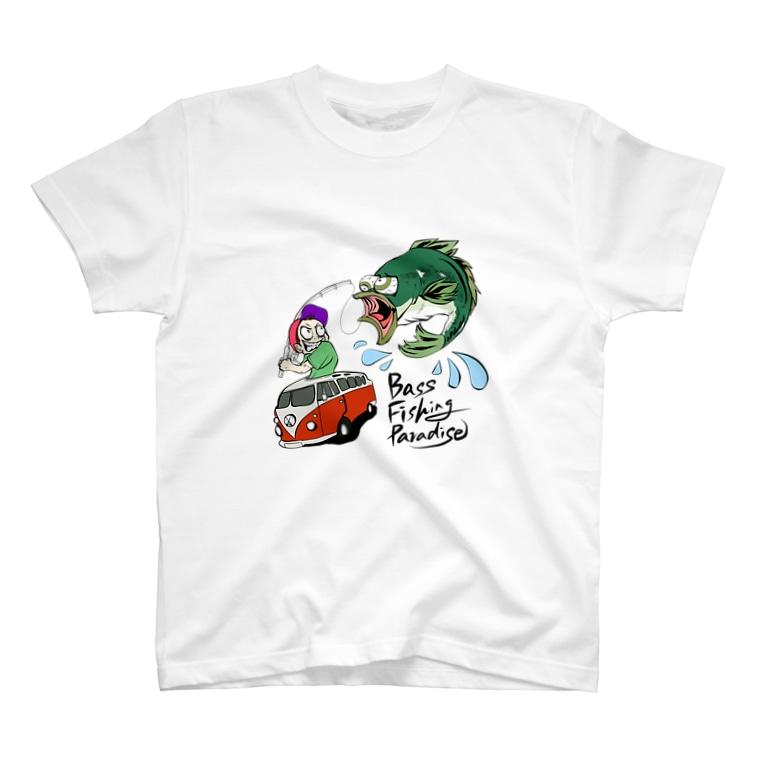 bassfishing paradiseのbass fishing paradise T-Shirt