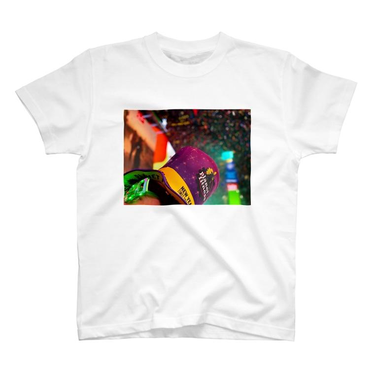 YUKINOsanのNEW YEAR'S EVE IN NEW YORK 2020 #2 T-shirts