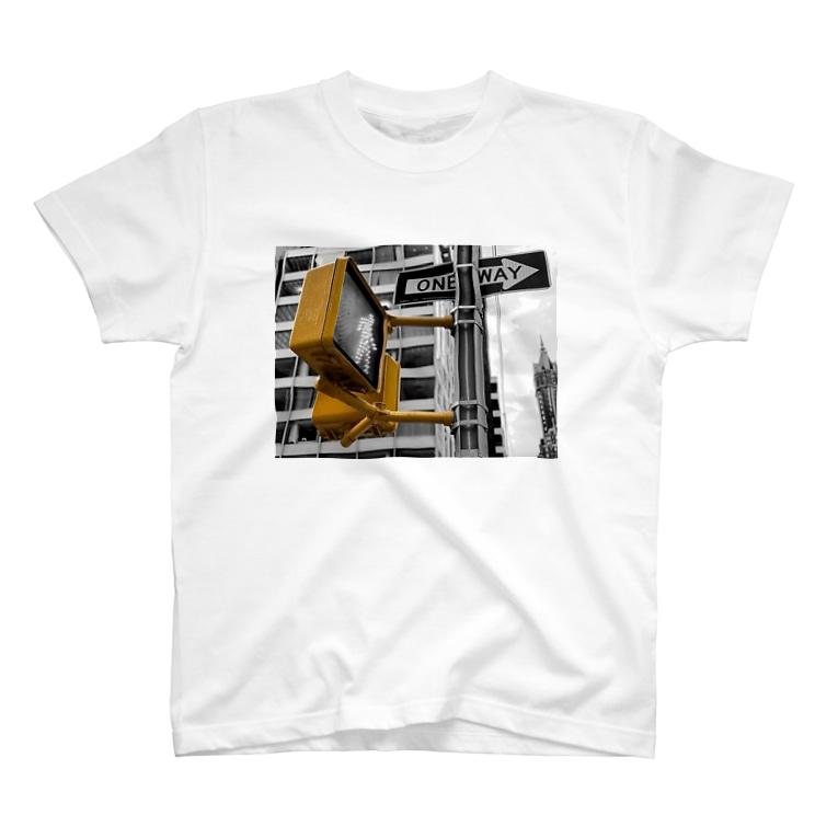 YUKINOsanのNEW YORK CITY #2 T-shirts