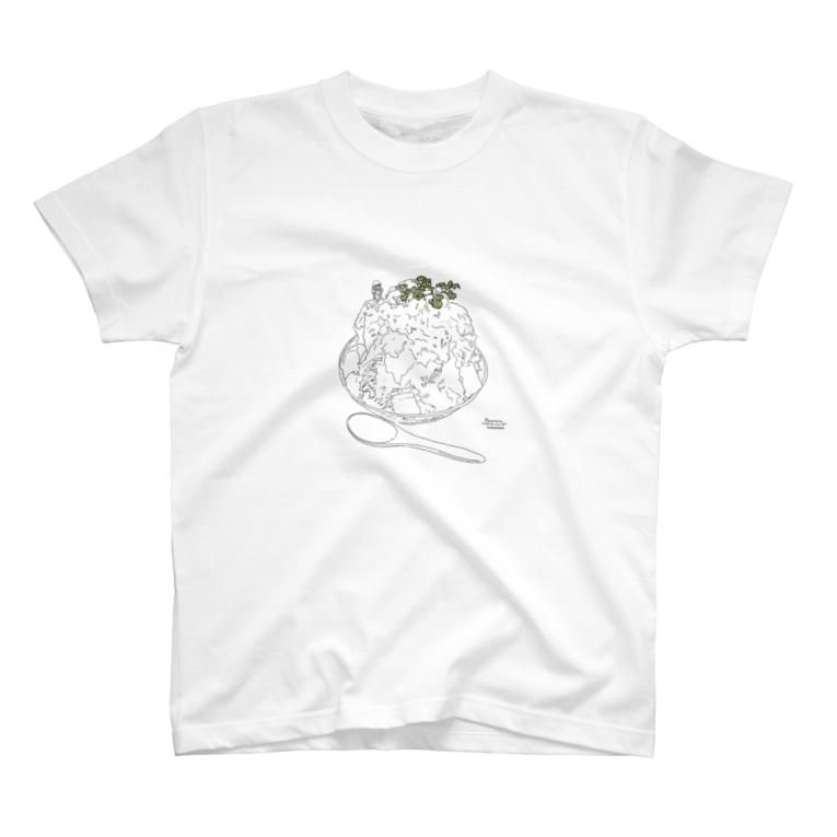 マキスミ ハルナのかき氷山へ T-shirts