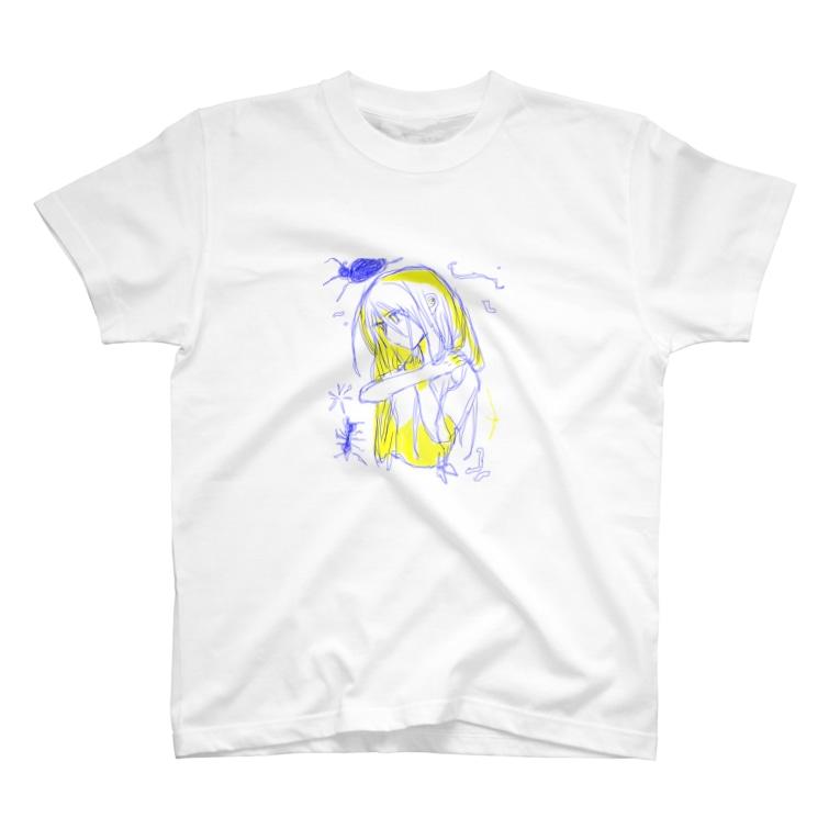 はし鍵のプレパラート T-shirts