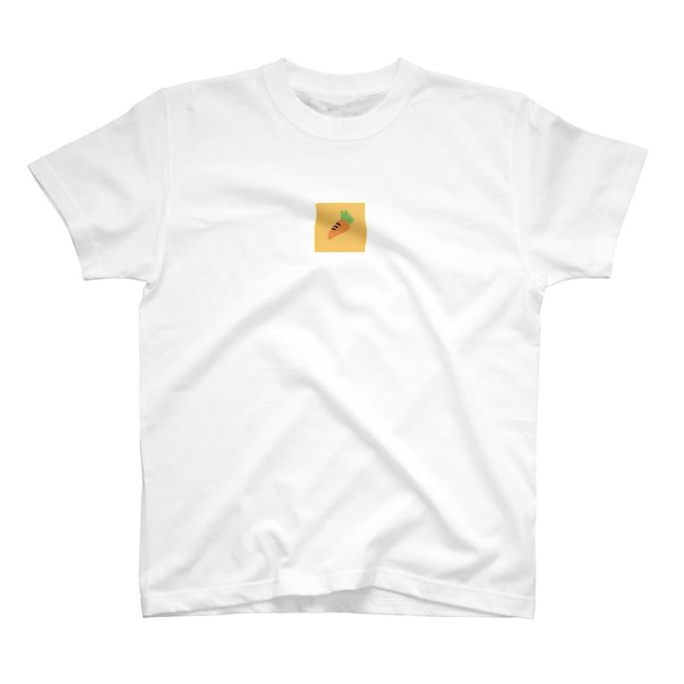 やるきあるカンパニーのにんじん🥕Tシャツ T-shirts