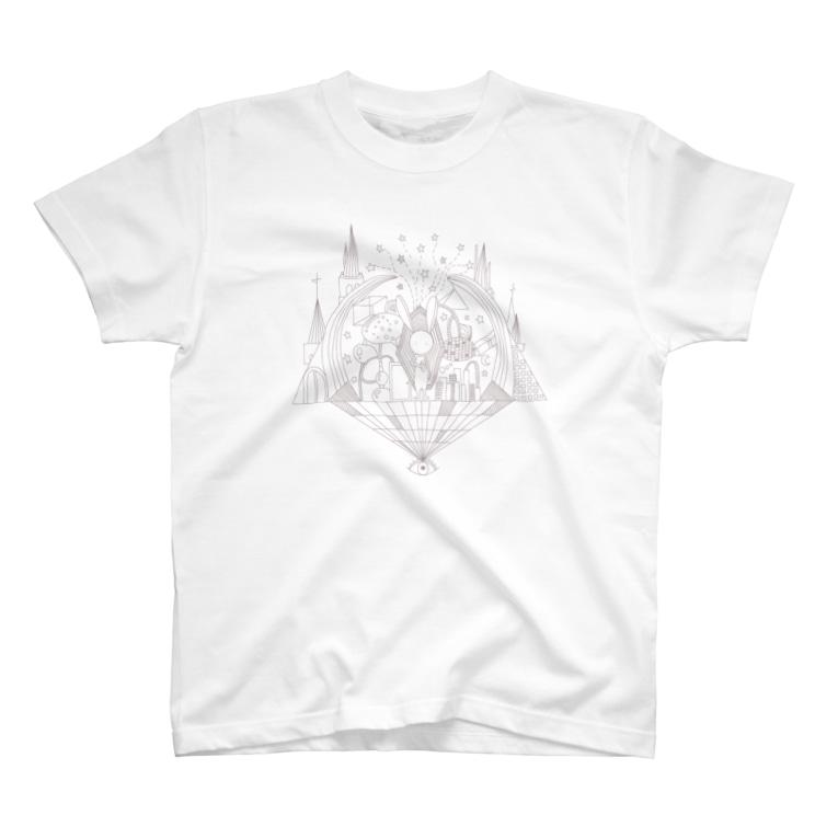 帰宅倶楽部のうさぎのTシャツ T-shirts