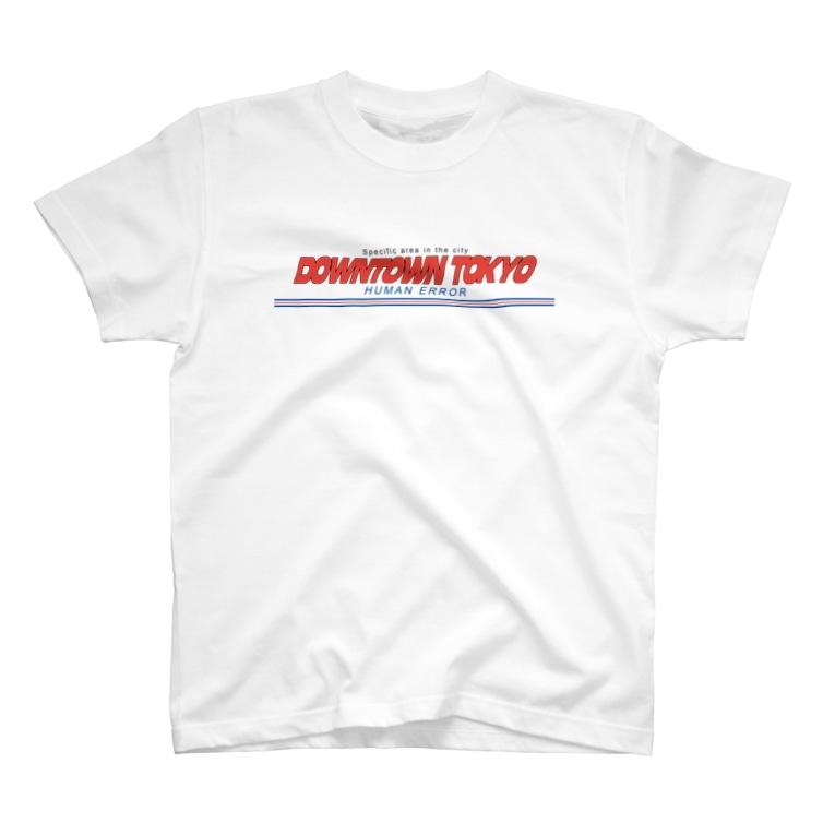 HUMAN ERRORのDOWNTOWN TOKYO T-Shirt
