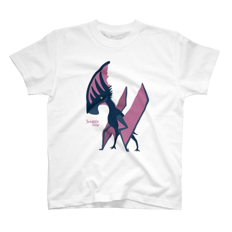 ケータ🦕恐竜イラストレーターのタペヤラ・Tシャツ T-shirts