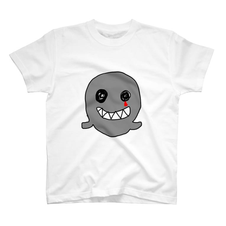 匿名希望のおばけのくろちゃん T-shirts