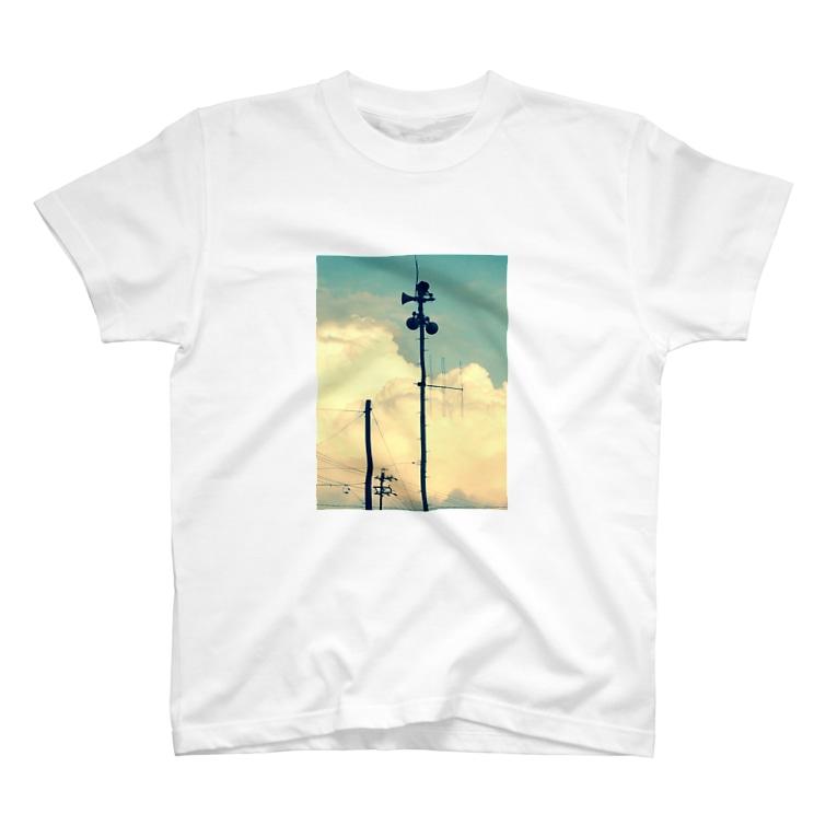 よぴ屋の初夏に撮ったスピーカーみたいなヤツ T-shirts
