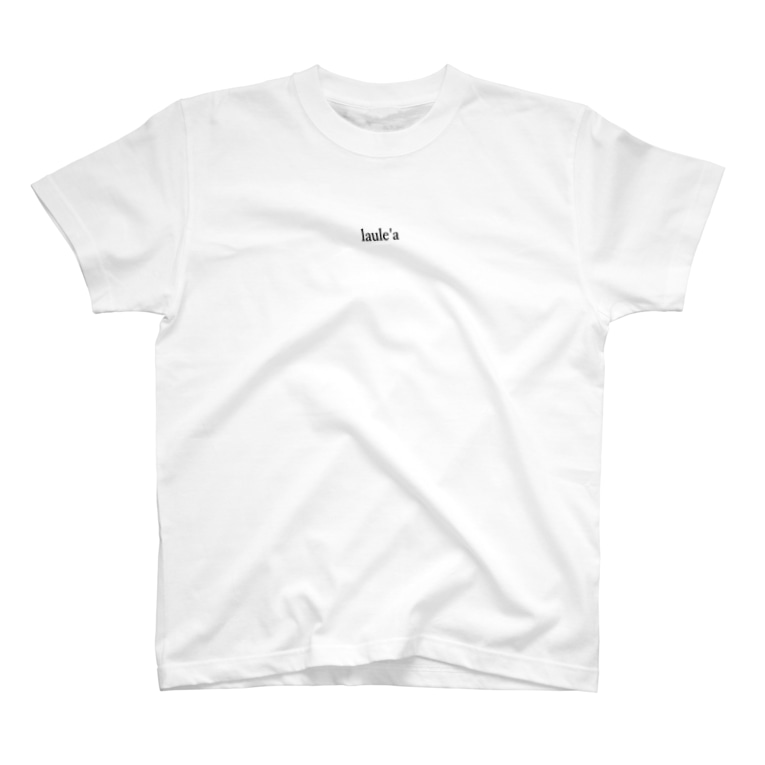 Laule'aのlaule'a white T-shirt T-shirts