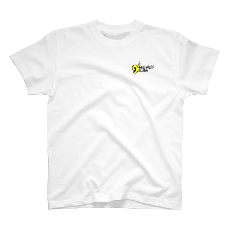 shiningwillの佐藤絵里香のgood night radio ロゴTシャツ T-shirts