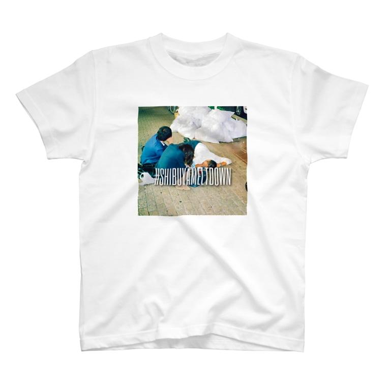 #SHIBUYAMELTDOWNの#SHIBUYAMELTDOWN T-shirts