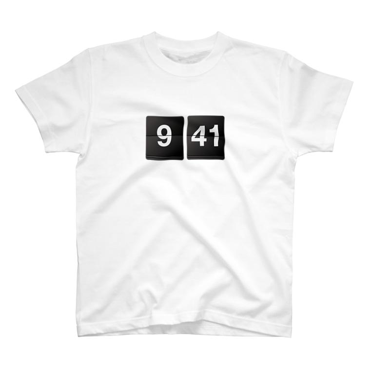 PROshopの941 flip clock T-shirts
